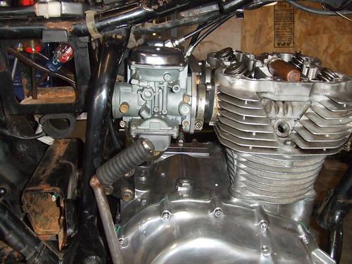 1974 honda cb360  top