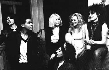 Chrissie Hynde, Pauline Black, Debbie Harry, Poly Styrene, Viv Albertine, Siouxsie Sioux, 1977