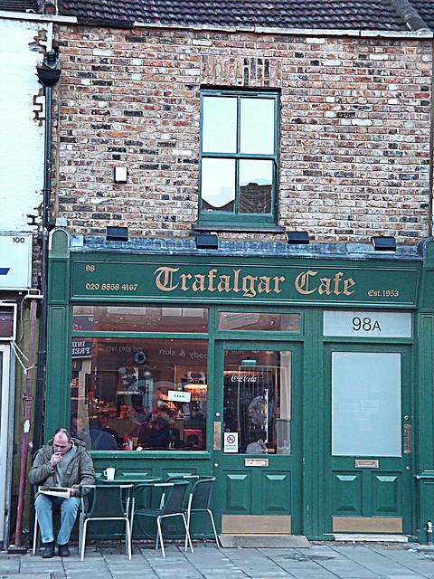 Trafalgar Cafe Greenwich Opening Times
