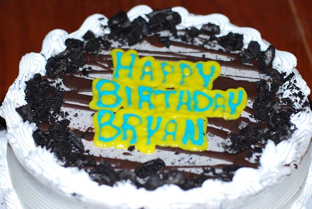 Bryan Birthday Cake
