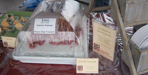 Local Meat 2008-Emu Summer Sausage