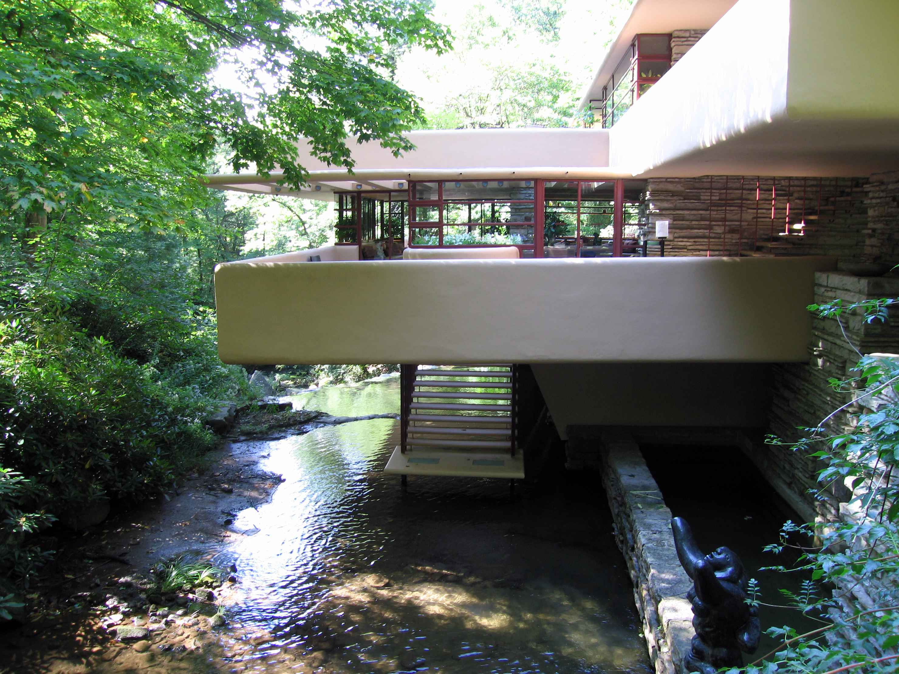 Fallingwater House Frank Lloyd Wright 1937 Flickr
