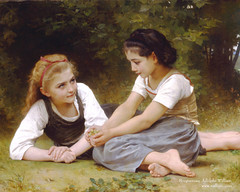 William-Bouguereau-paintings-Les_noisettes | by phuongtra12