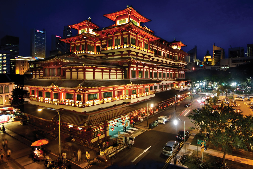 The Grand Buddha Tooth Relic Temple & Museum, Singapore