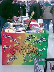 Shopping Blowout!