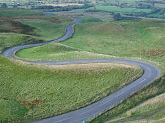 highway, field, bird's-eye view, road, landscape, aerial photography, grassland, infrastructure,