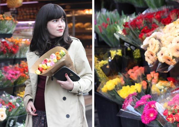 פריז, פרחים, בלוג אופנה ישראלי בפריז, בלוג אופנה