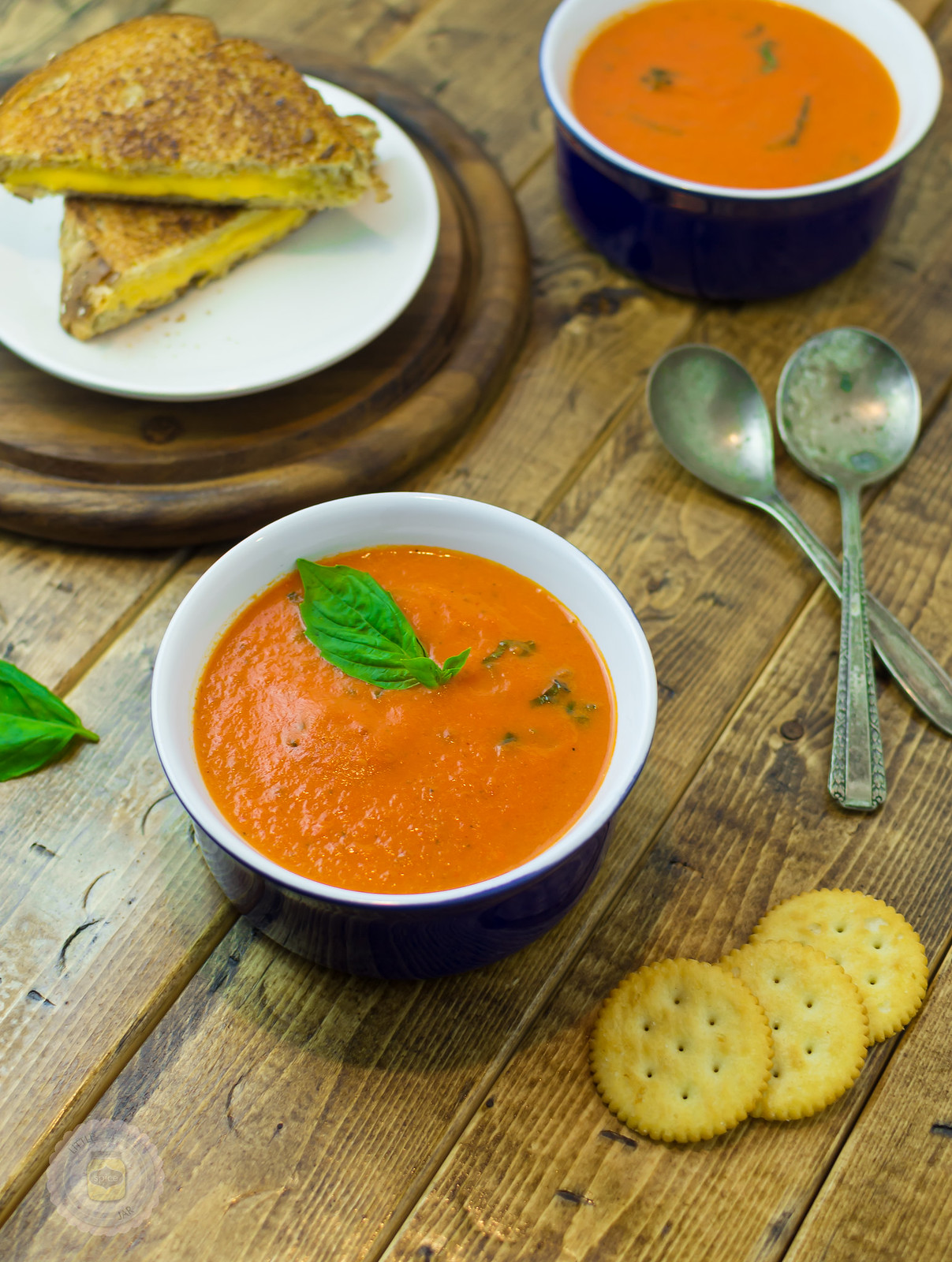 Roasted Tomato Basil Bisque 1