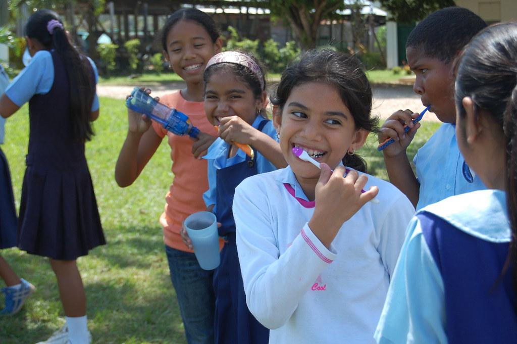 Teeth Brushing Time!