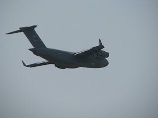 Vorbeiflug: Boeing C-17 Globemaster III