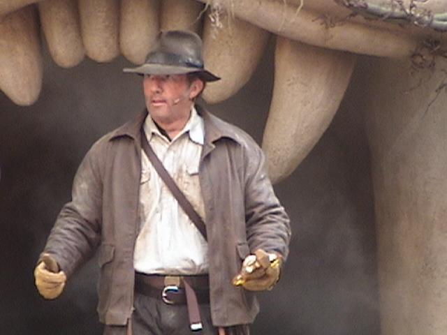 Indiana Jones™ and the Secret of the Stone Tiger Revealed!, Aladdin's Oasis, Adventureland, Disneyland®, Anaheim, California, 2008.05.26 15:26