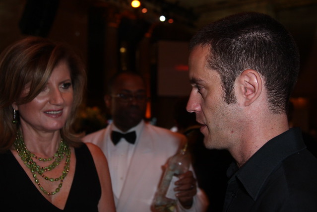 Arianna Huffington and Allen Mendelsohn at the The 12th Annual Webby Awards