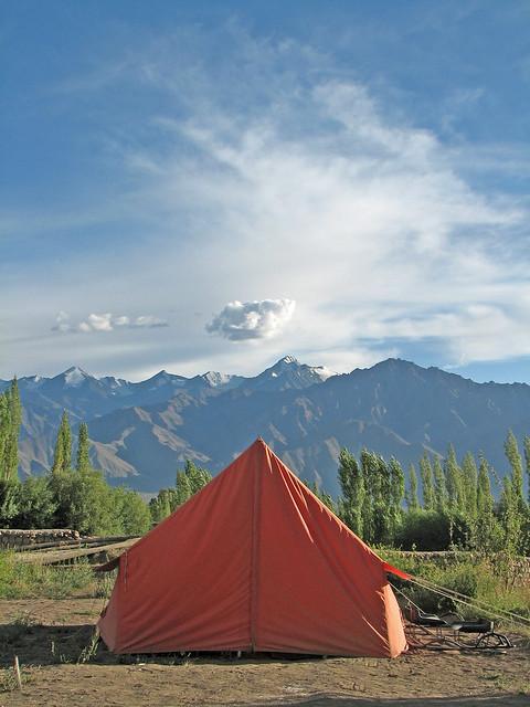 Camp @ Leh Valley from Flickr via Wylio