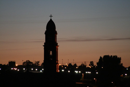 Sunset at St Marys Church