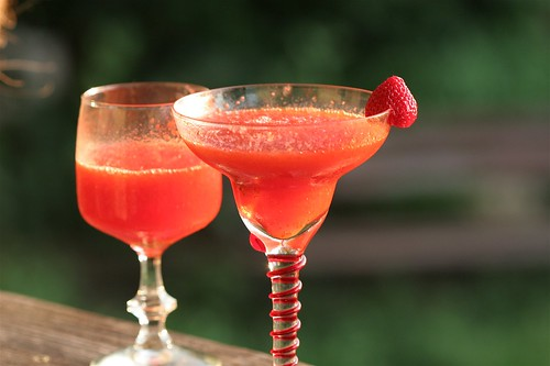 fresh strawberry daiquiris