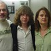 Ben Kweller with DJs Darren DeVivo and Claudia Marshall