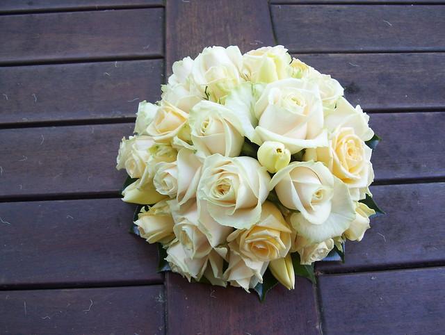 Cream Wedding Bouquet