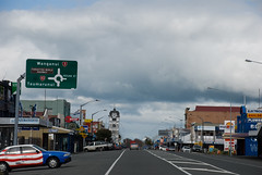 Wonderful downtown Stratford, Taranaki, New Zealand, 10 August 2008
