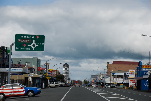 Stratford New Zealand  City new picture : Wonderful downtown Stratford, Taranaki, New Zealand, 10 August 2008 ...