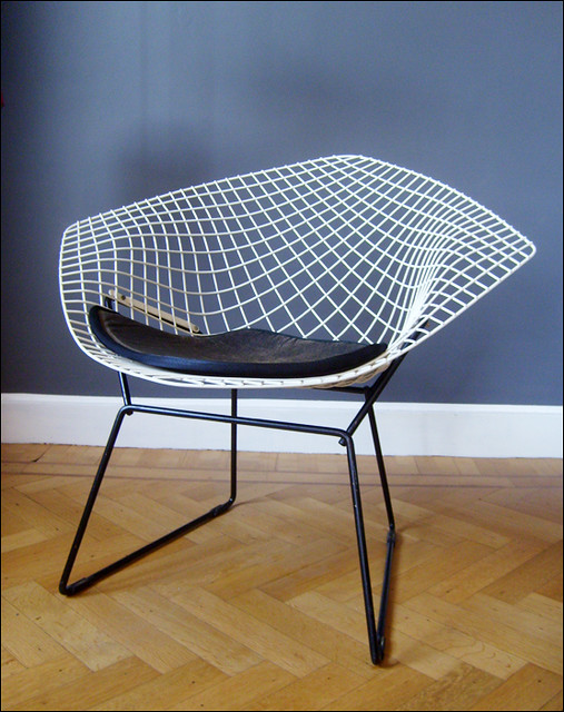 fauteuil diamant harry bertoia knoll 1952 a photo on flickriver. Black Bedroom Furniture Sets. Home Design Ideas