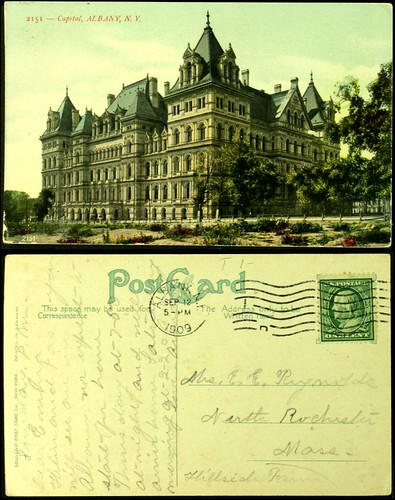 Capitol building, Albany postcard
