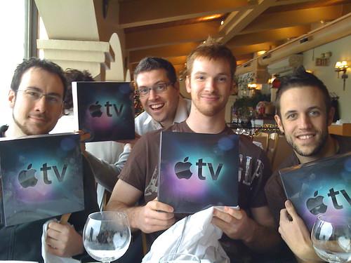 Apple TVs from Strutta for Christmas