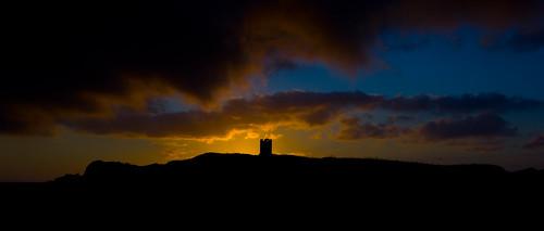 sunrise scotland cairn the isleofwhithorn