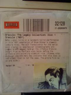 Notes To Netflix - Dracula