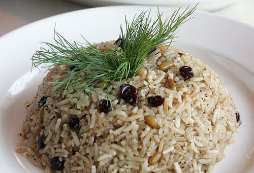 Mediterranean Rice Pilaf - From Anatolia