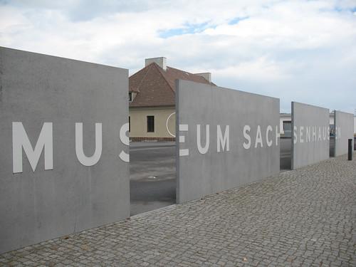 Sachsenhausen entrance