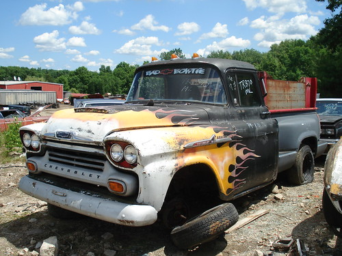 1958 Chevrolet Apache Pickup by carcrazy6509