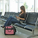 Mobile Edge ScanFast Element Briefcase - Pink