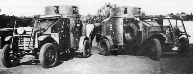 1915 Lancia IZ, East Africa, 1940