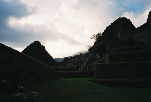 mountains peru sunsets machupicchu forests