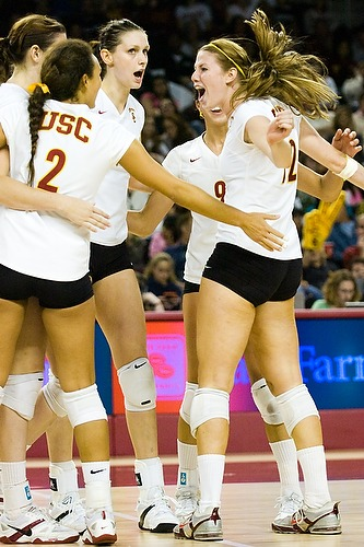 Women s volleyball usc vs stanford flickr photo sharing