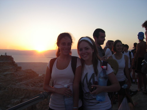 Myself and Sara as the sun rises