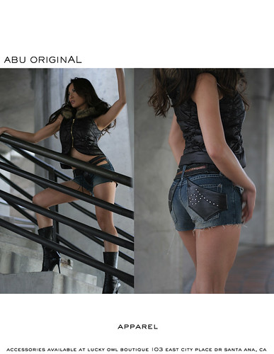 Josie Lee - Advertisement for designer: Abu Original