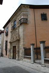 Casa de Castril, sede del Museo Arqueológico de Granada, situada en Carrera del Darro  (paseo de los tristes) en Granada
