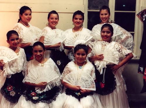 Ballet Folkórico days (circa 1993)