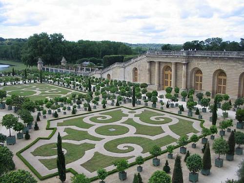 Jardins du ch teau de versailles parterre de l 39 orangerie for Architecte jardin versailles