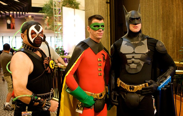 Batman, Robin and Bane