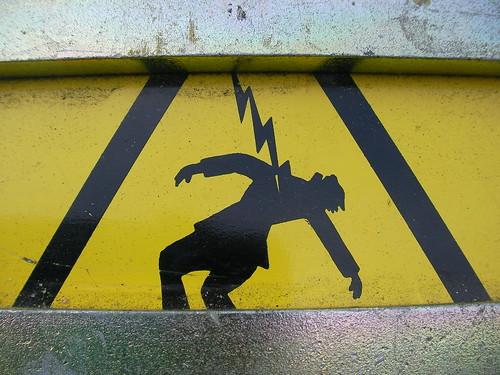 Beware god's wrath here.