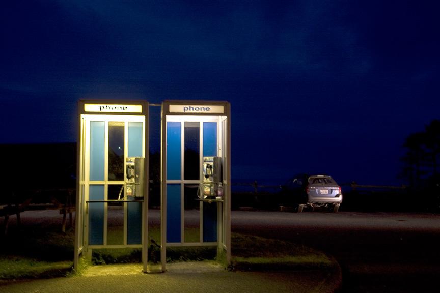 Kalaloch phone booth