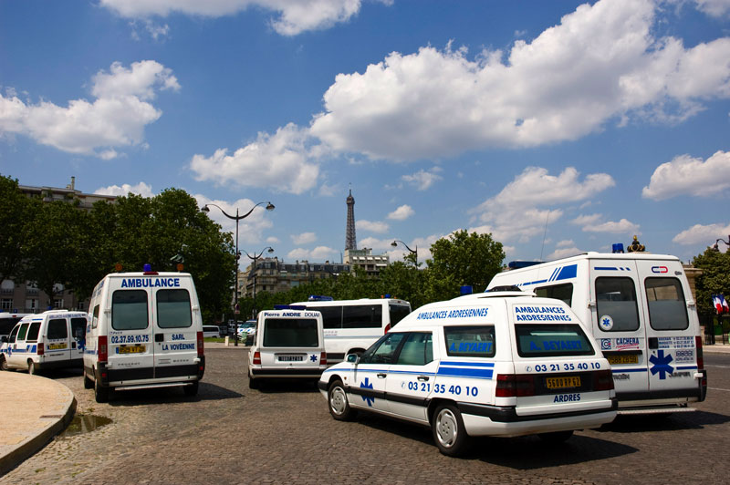 Manif ambulanciers
