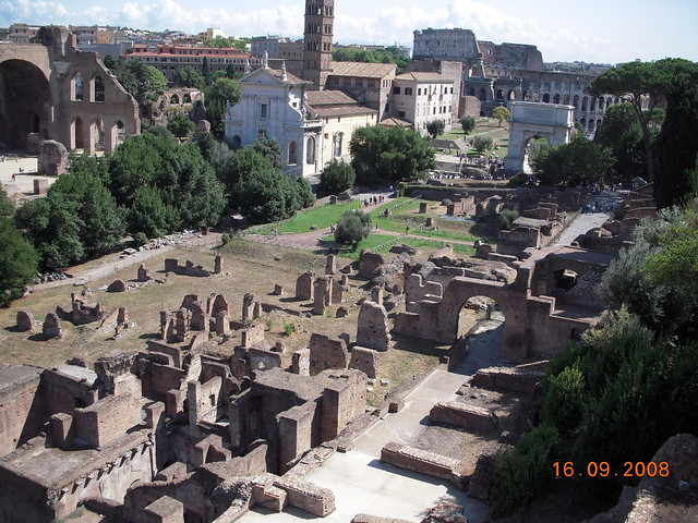157 - Palatino y Foro Romano