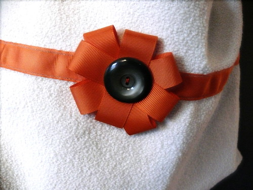 orange flower bag (swapped with oonaballoona)