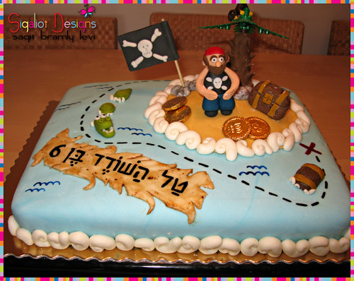 Birthday cake for my son the pirate :-) Flickr - Photo ...