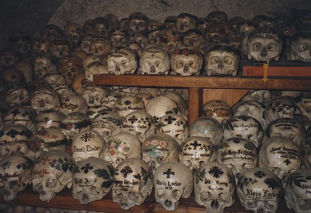 Hallstatt Skulls 93