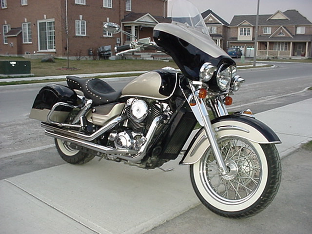 2000 Honda Shadow Aero 1100 By Wowkster Flickr Photo