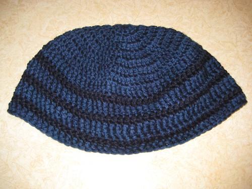 Crocheted gift hat